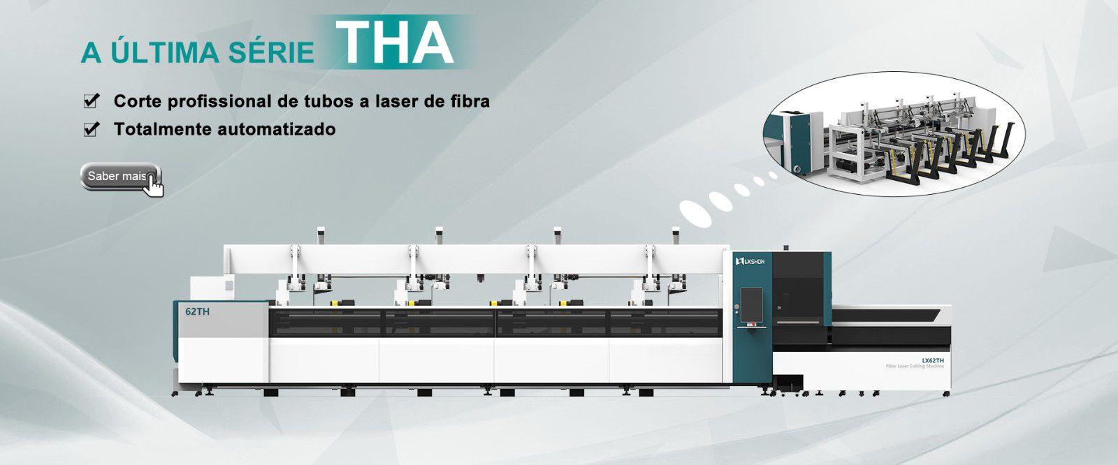 Máquina de corte a laser tubo LX62THA