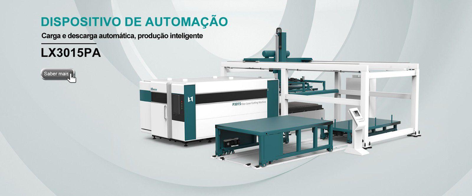 Cortador automático a laser de fibra LX3015PA