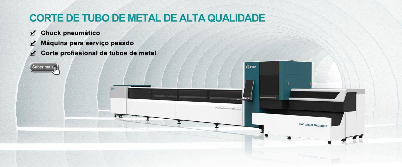 Máquina de corte a laser de tubo LX62TH