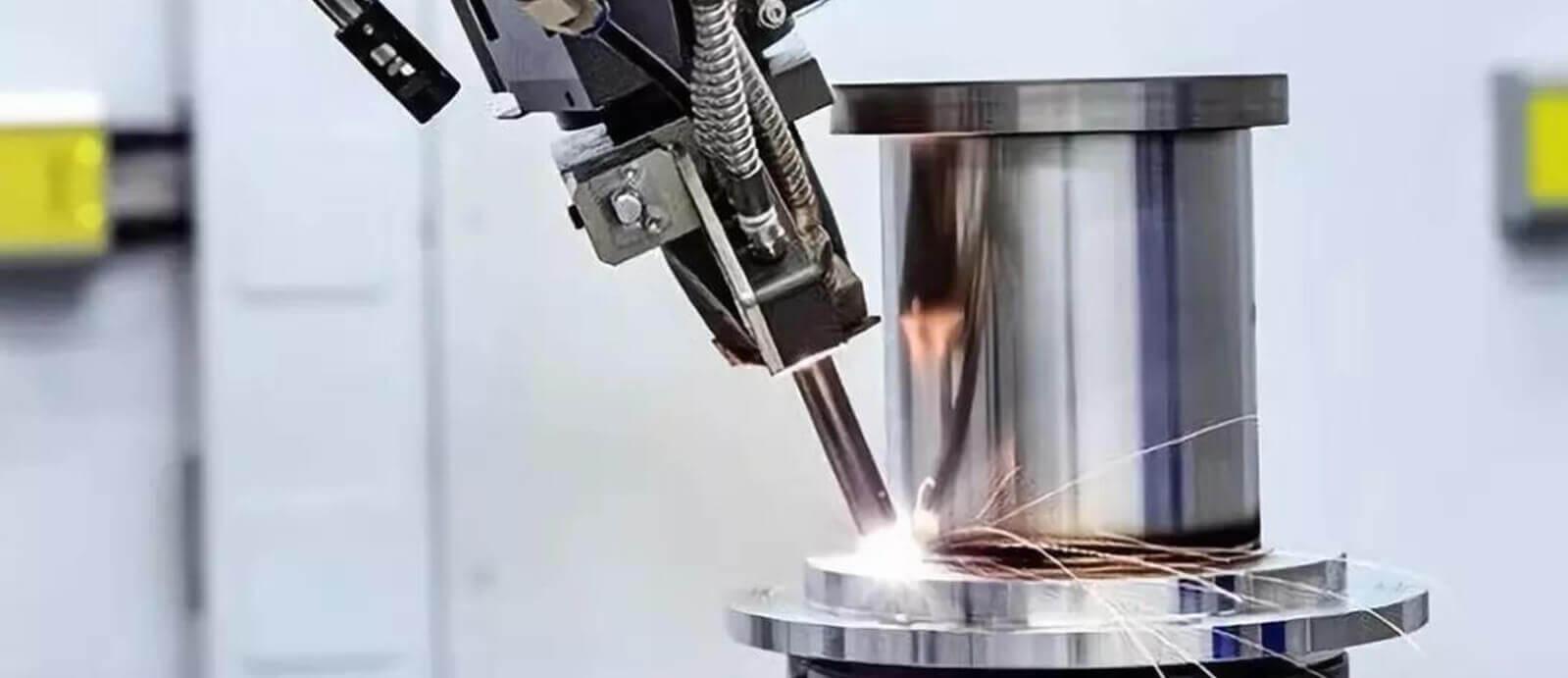 Amostras de soldagem a laser